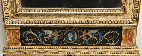 Peili, kustavilainen, 1700-luvun loppu.
