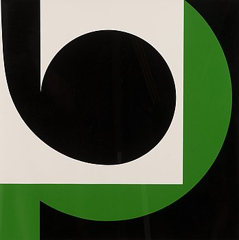 LARS-GUNNAR NORDSTRÖM, serigraph, signed and dated -90, numbered 63/100.