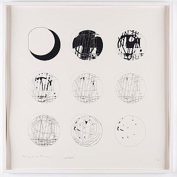 AI WEIWEI, signed in pencil by Ai Weiwei and Herzog & de Meuron, screenprint, numbered 71/200.