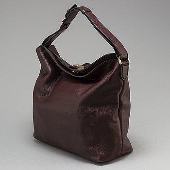 MULBERRY, a 'Freya' leather hobo bag.