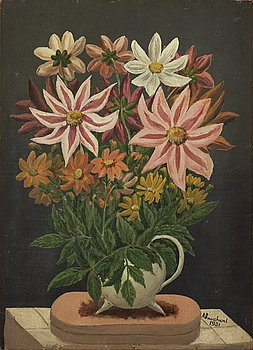 ANDRÉ BAUCHANT, oil on canvas, signed and dated 1931.