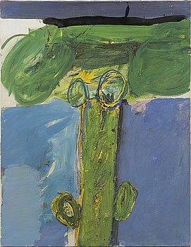 """JAN STENVINKEL, oil on canvas, no signature, labeled """"Jan Stenvinkel Göteborg Sverige""""."""
