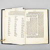 Book, incunable, milan 1487.