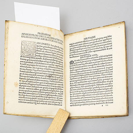Book, incunable, venice 1498/9.