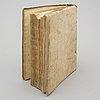 Book, boccaccio's genealogy of the pagan gods, 1547.