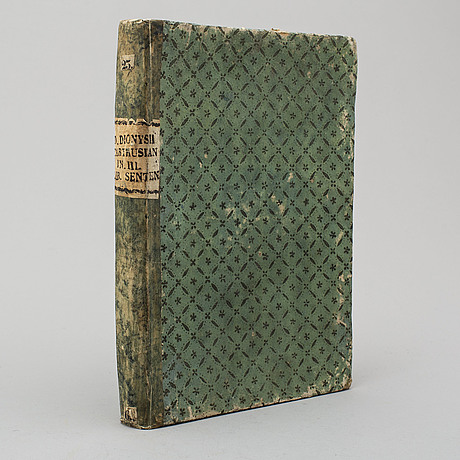Book, printed at venice in 1584.