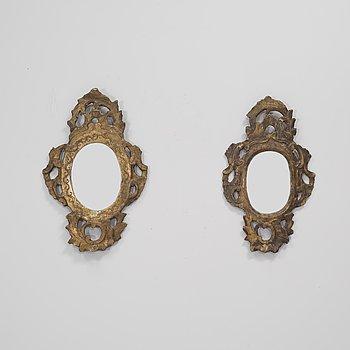 A pair of 19th century mirror.