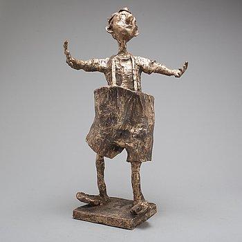 KARL HÖGLUND, skulptur, brons, signerad Karl Höglund och numrerad 19/25.