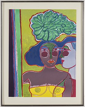 BEVERLOO CORNEILLE, lithograph in colours, signed and numbered 170/200.