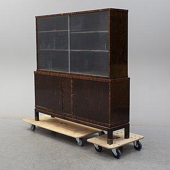 a 1930's vitrine cabinet.