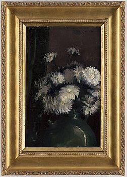 ESTHER KJERNER, olja på duk, signerad och daterad 1901.