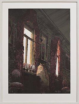ROJ FRIBERG, färglitografi, signerad och numrerad 11/160.