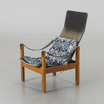 KERSTIN HÖRLIN-HOLMQUIST, armchair from the second half of the 20th century.