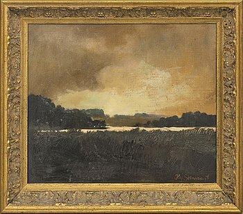 KAJ STENMAN, oil on canvas, signed.