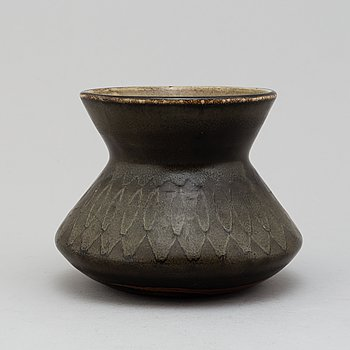 CARL-HARRY STÅLHANE, a stoneware vase from Rörstrand Ateljé.
