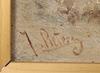OkÄnd konstnÄr, olja på pannå, 1800-talets andra hälft, otydl sign, möjl holland.