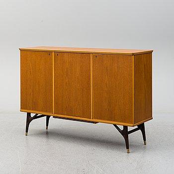 A teak veneered sideboard from AB Tabergsmöbler, Smålands Taberg, 1950's/60's.