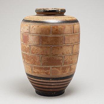URNA, terracotta, sent 1800-tal.