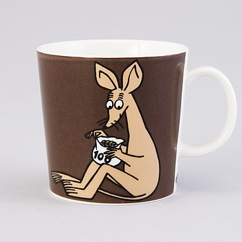 MOOMIN-MUG, porcelain, 'Sniff', Moomin Characters, Arabia 2002-2008.