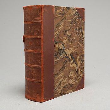 """BOK, Gustaf Upmark, """"Guld- och Silversmeder i Sverige 1520-1850"""", Stockholm, Alb. Bonniers Boktryckeri 1925."""