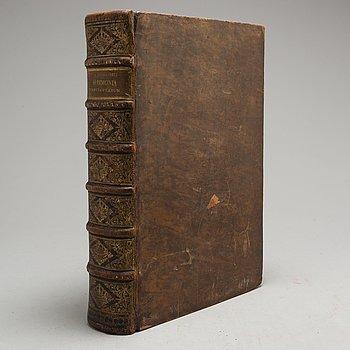 """BOK, """"Harmoniae eungelistarum"""", Johan Gerhardo Rotterdam, 1646."""