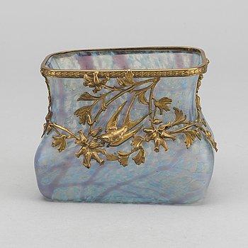 WILHELM KRALIK SOHNE, tillskriven skål, Art Nouveau tidigt 1900-tal.