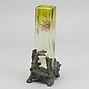 A possibly gräflich harrch'se glasfabrik art nouveau glass vase.