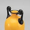 Michael powolny, a tango glass vase around 1910.