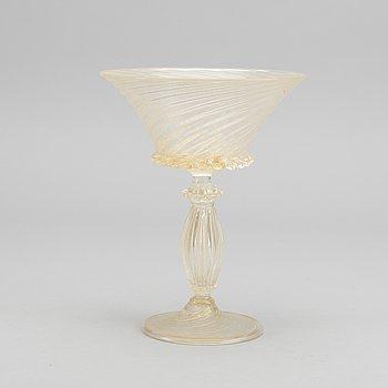 SALVIATI & CO, a glas tazza Italy around 1900.