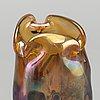 John northwood, an art nouveau glass vase around 1900.