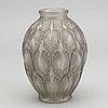 Charles graffart och renÉ delvenne, a signed girofla luxval glass vase for val st lambert ca 1935.