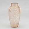 EugÈne souchon & marie neuvesel, a moulded glass vase