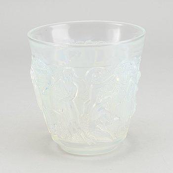 SABINO, vas Art Deco Frankrike 1930-tal gjutet glas.