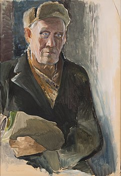 LENNART SEGERSTRÅLE, gouache and watercolour, signed and dated 1941.