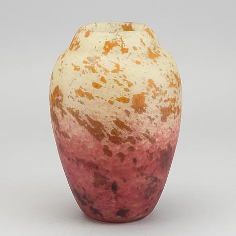 Charles schneider, a 1920's glass vase