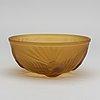 James a. jobling & co, a moulded art deco glass bowl
