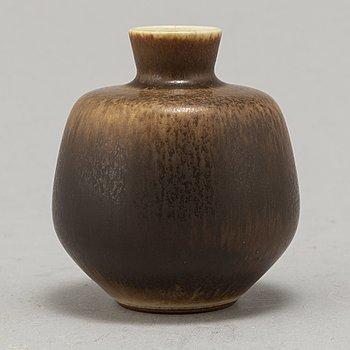 BERNDT FRIBERG, a stoneware vase, signed, Gustavsberg Studio.