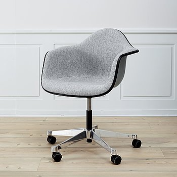 An 'DAR' armchair by Charles & Ray Eames, Vitra.