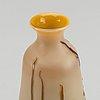 Theodore legras, a cameo art nouveau signed glass vase