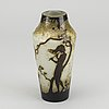 Daum nancy, a signed and dated  cameo glass vase