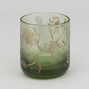 EMILE GALLÉ, vas signerad art Nouveau omkring 1900.