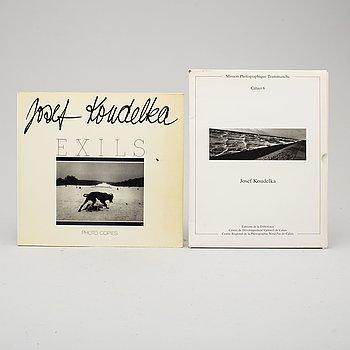 PHOTOBOOKS, 2 books by Josef Kodelka.