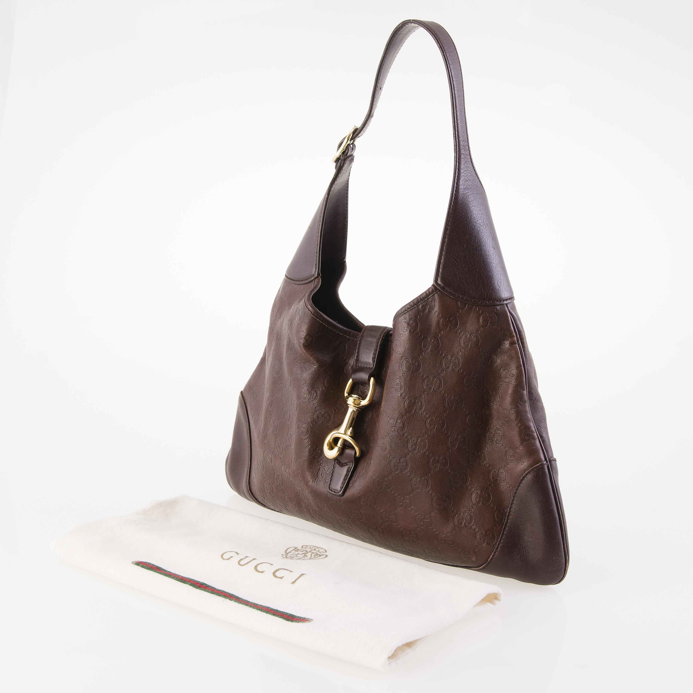 389613107c1e GUCCI Guccissima Leather Jackie Hobo Bag. - Bukowskis