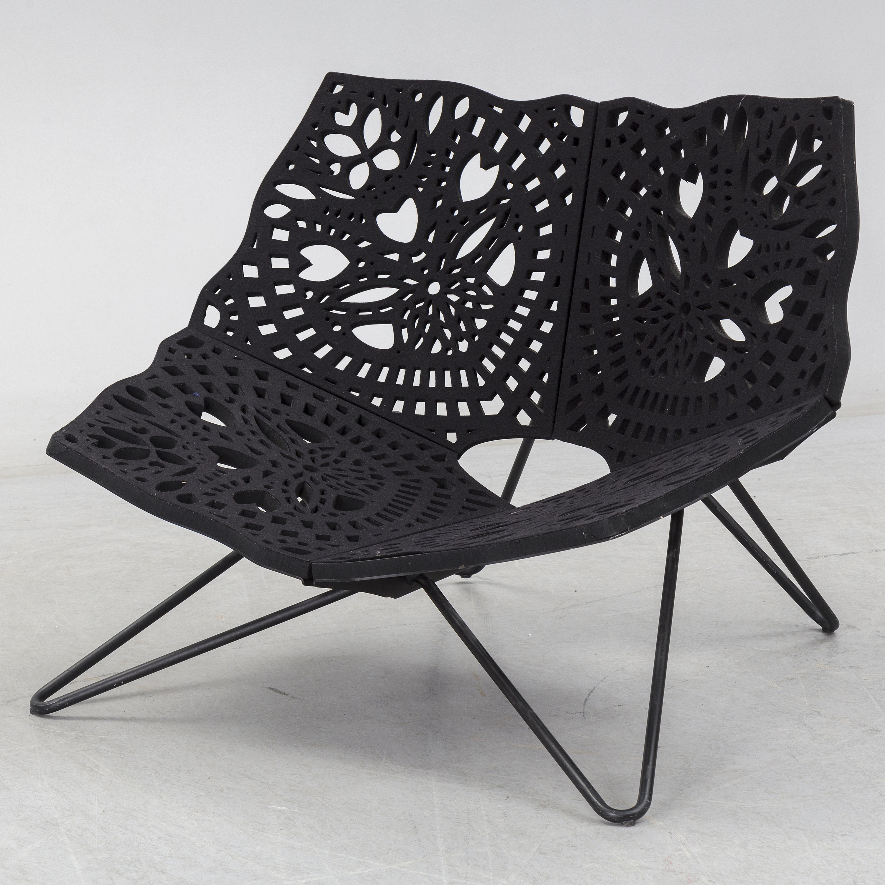 Superb An Easy Chair Prince Chair By Louise Campbell For Hay Dailytribune Chair Design For Home Dailytribuneorg
