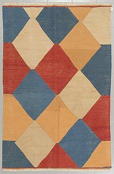 MATTA, slätväv, persisk, 212 x 134 cm.