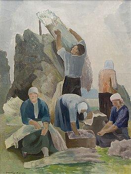 LENNART SEGERSTRÅLE, olja på duk, signerad och daterad 1966.