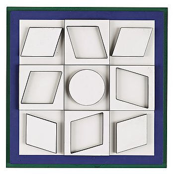 "676. Victor Vasarely, ""DYOK""."