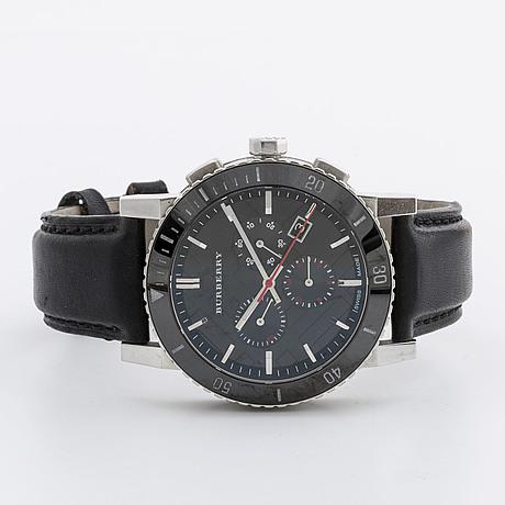 Burberry, watch, 43 mm