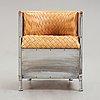 "Mats theselius, an ""aluminium chair"" by källemo, sweden post 1990."