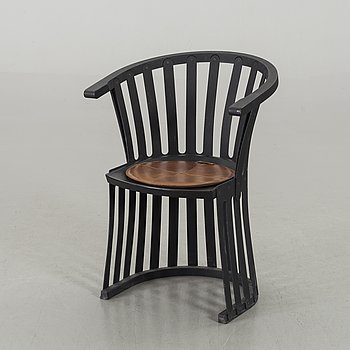 A BJÖRN HULTÉN ARMCHAIR, signed and numbered 10/100, dated 1999-09-09.